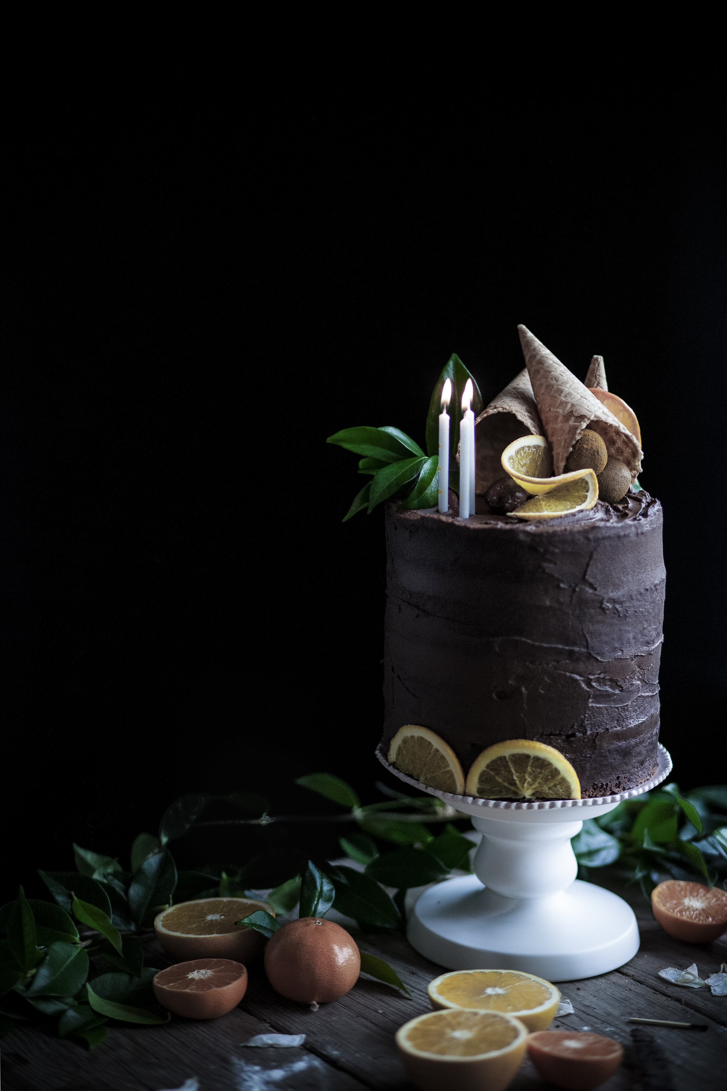 chocolate orange cake _salvialimone