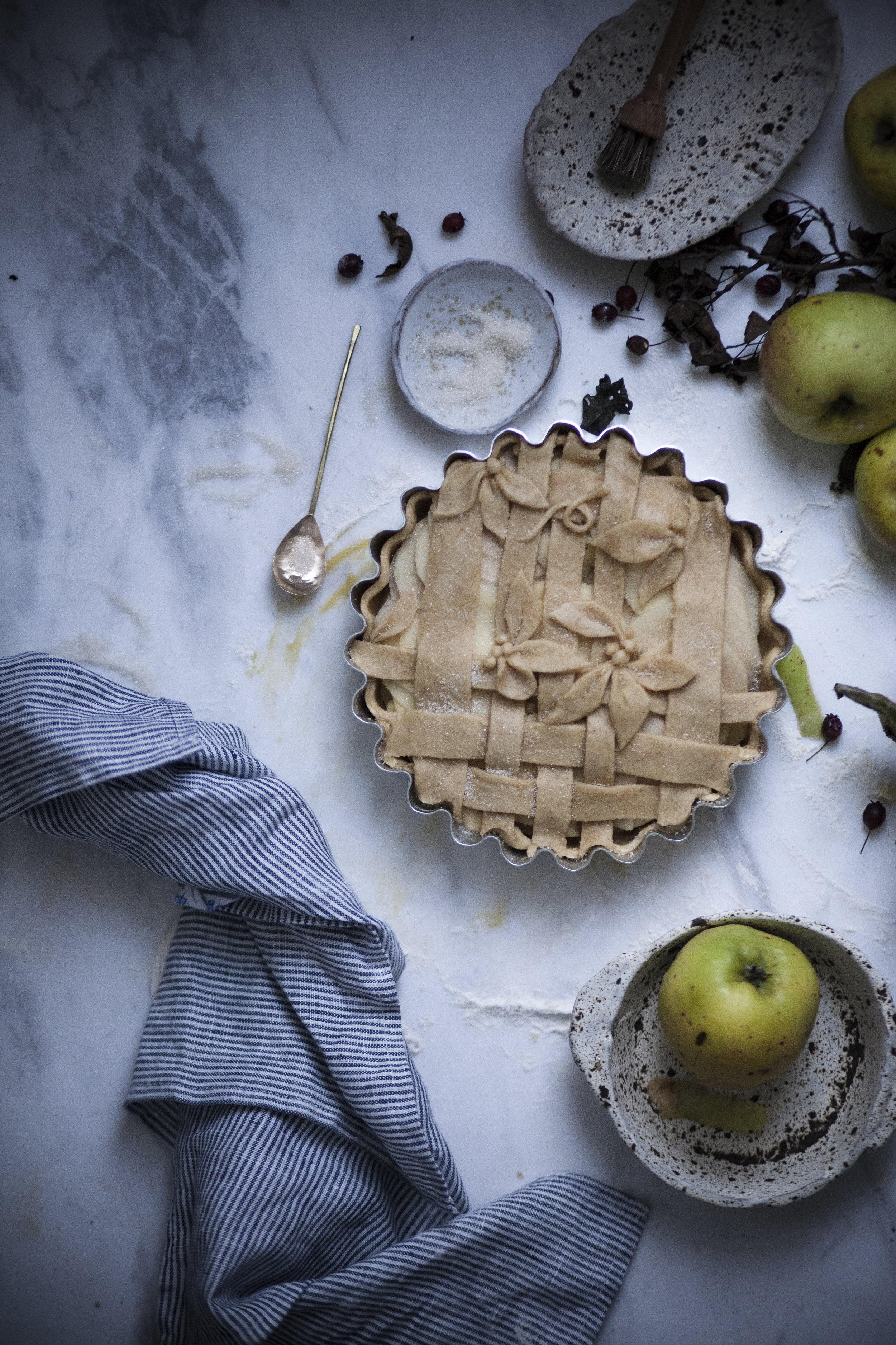apple crostata_salvialimone