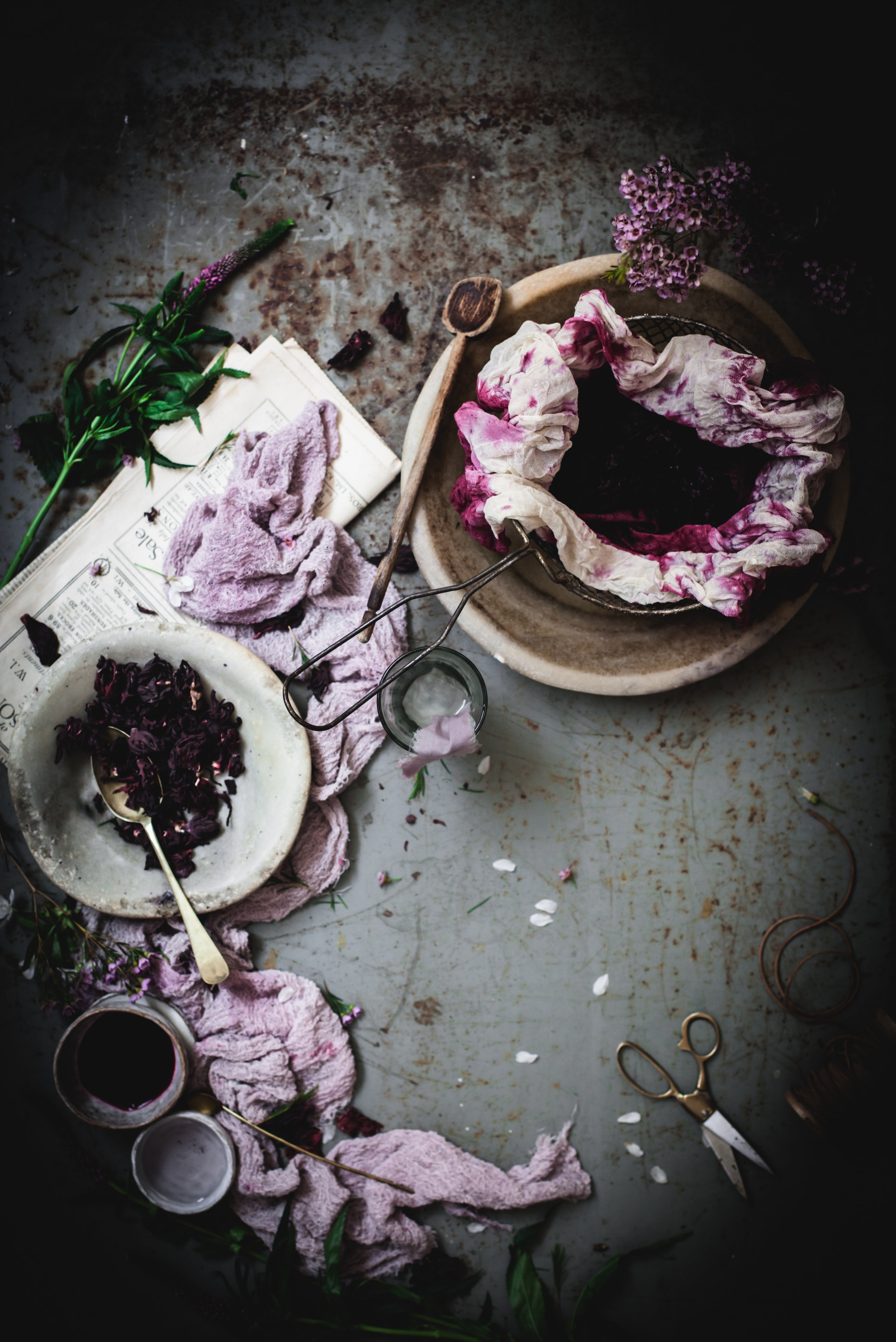 The natural dye process, little ceramic bowl by NomLiving