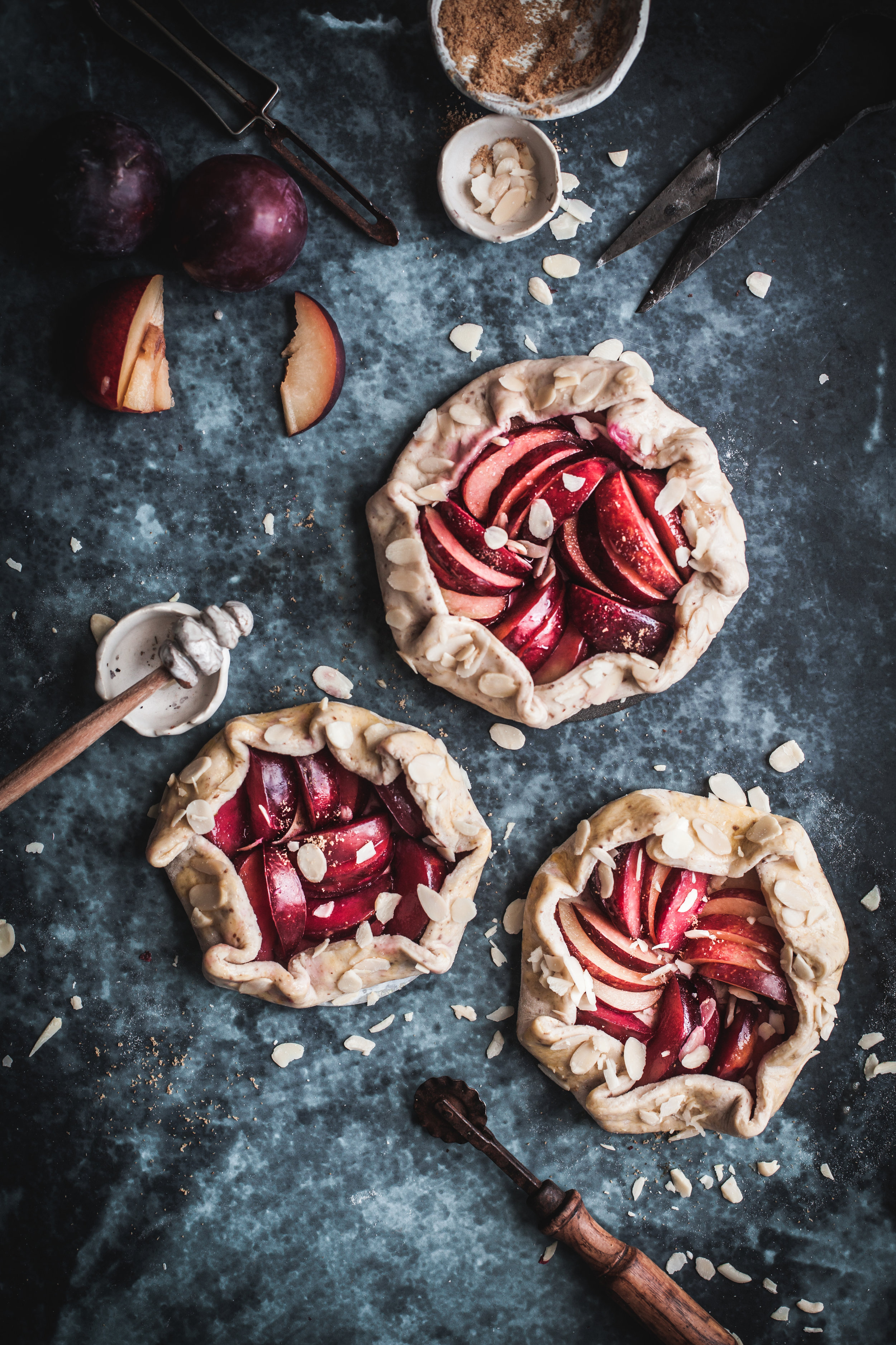 easy plum & almond galettes.JPG