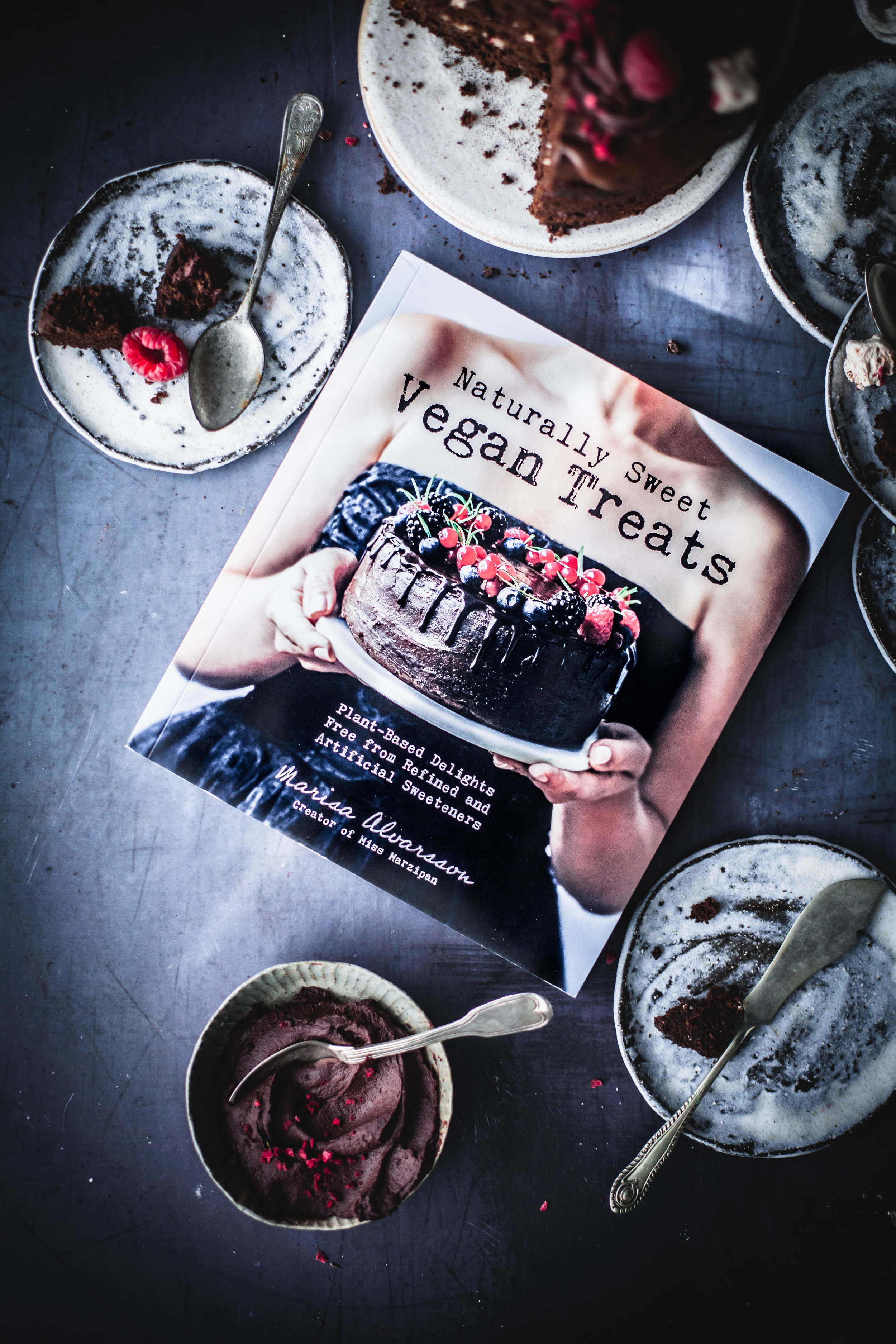 Raspberry Chocolate Cake with Marshmallow Dripping + Cookbook Giveway