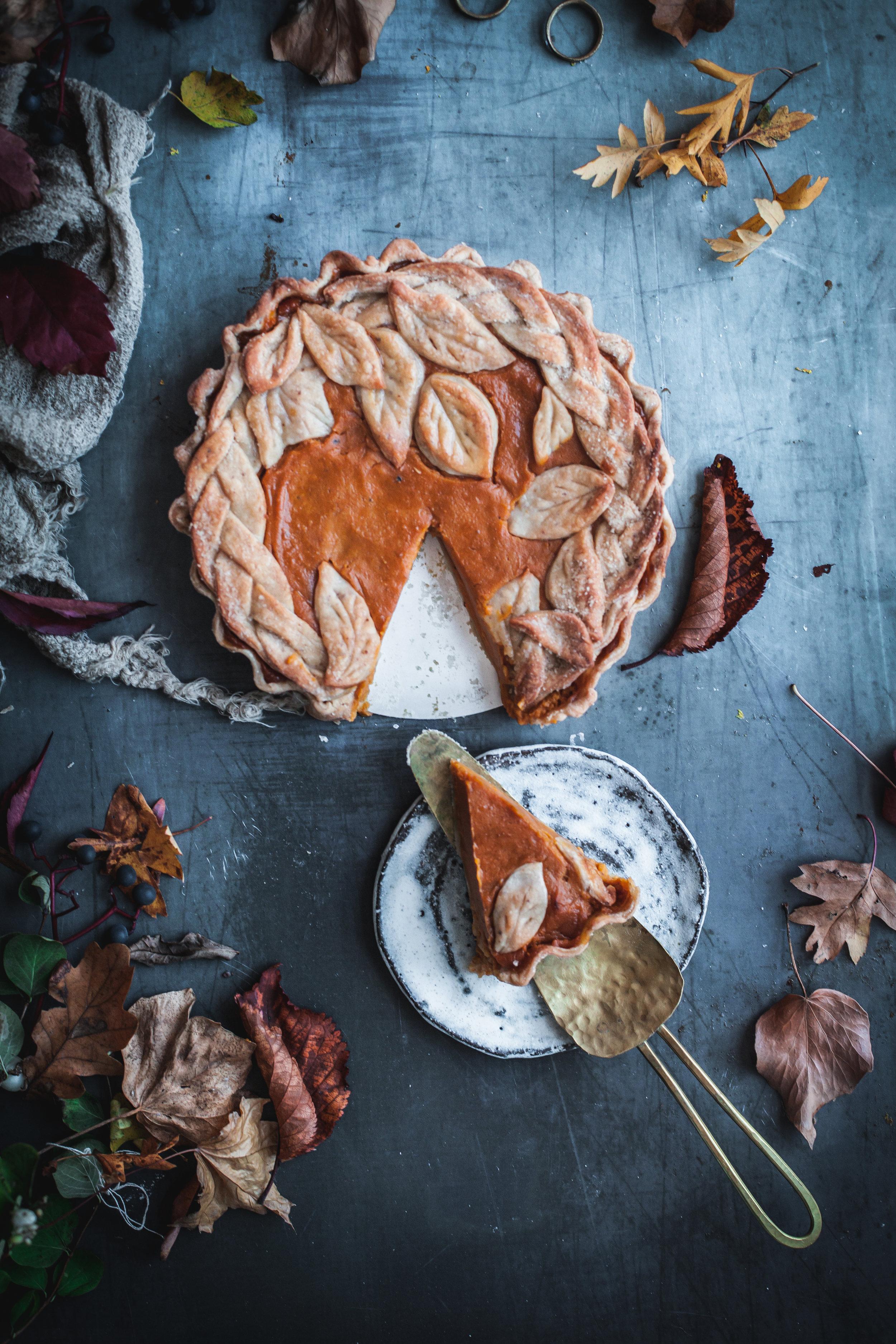 Vegan Easy Pumpkin Pie