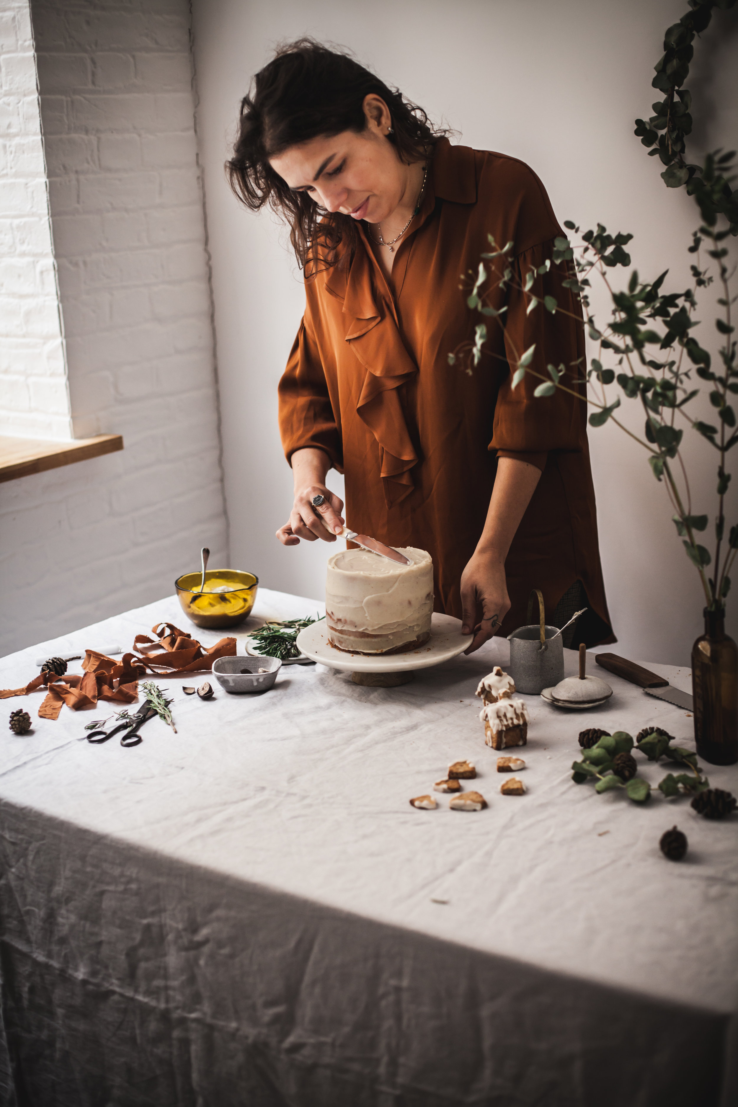 december workshop and Christmas cake recipe #vegan