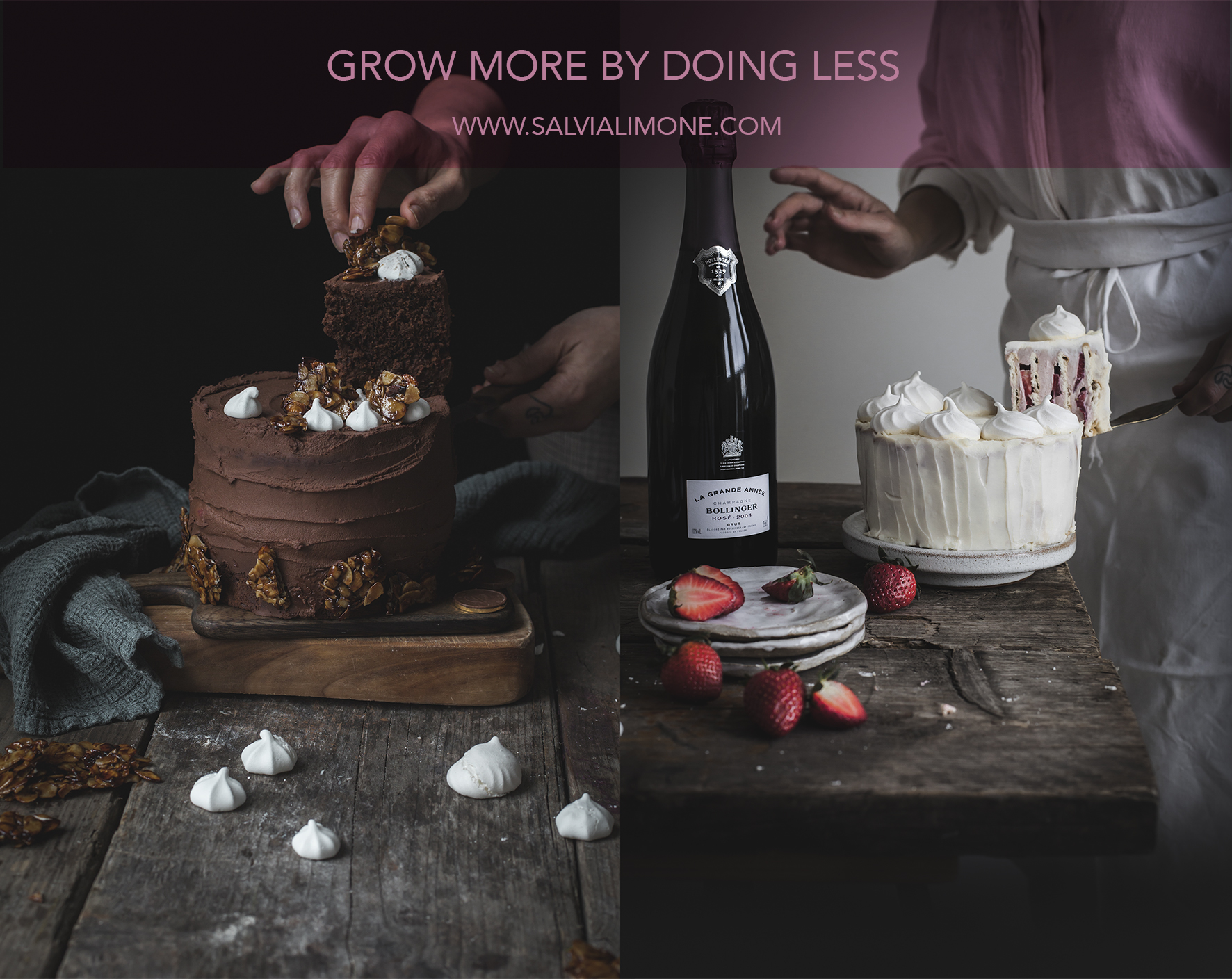 Grow more by creating less #instagram #foodphotography