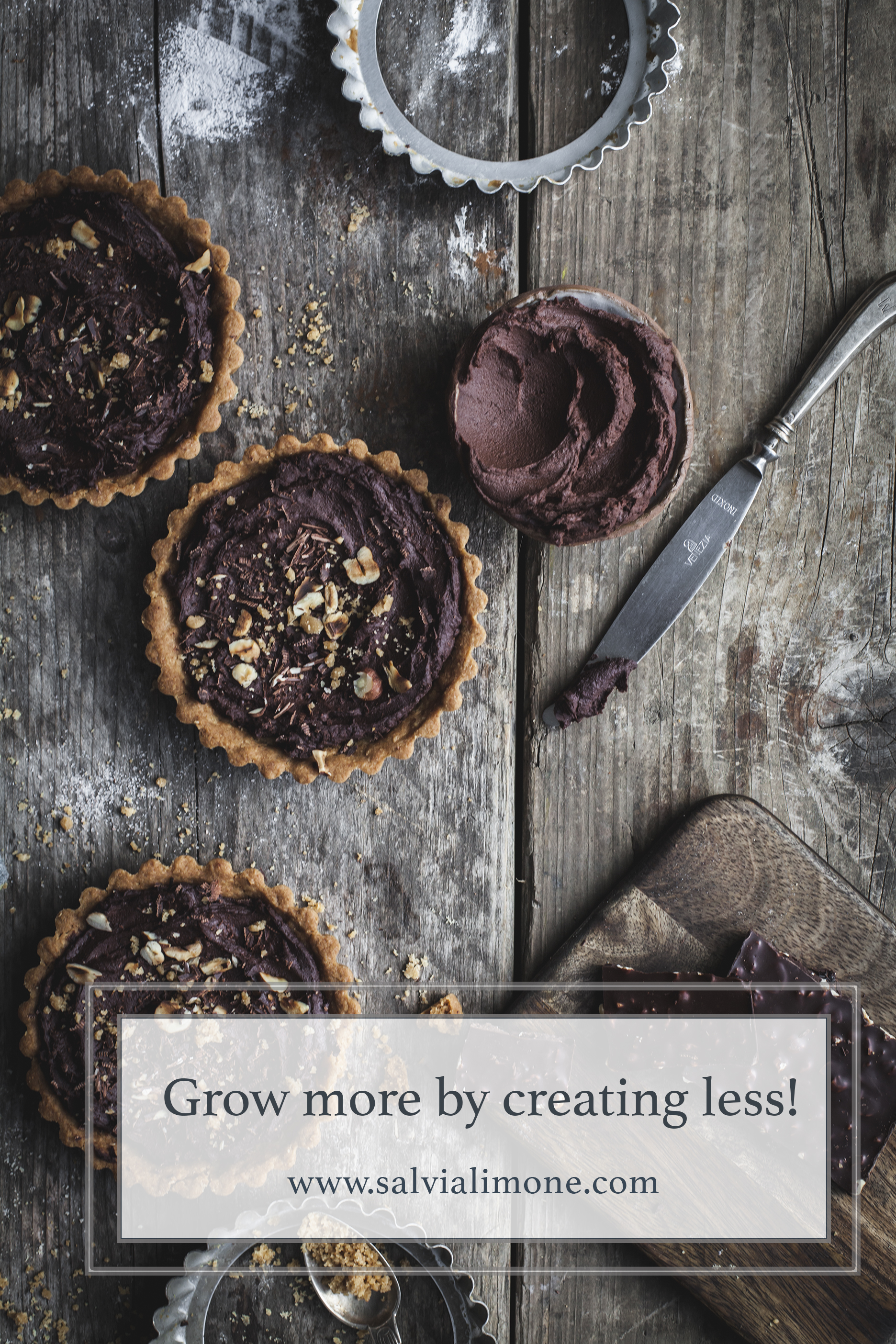 Grow more by creating less! #Instagram #foodphotography