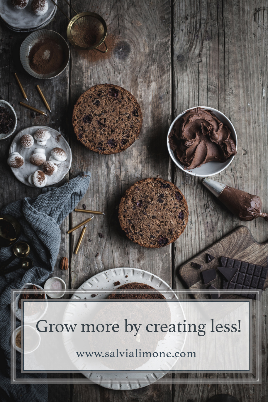 Grow more by creating less! #instagram #growyourfeed