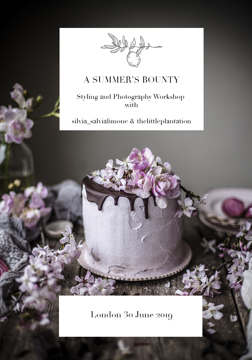 London Food styling Workshop in June #foodstyling