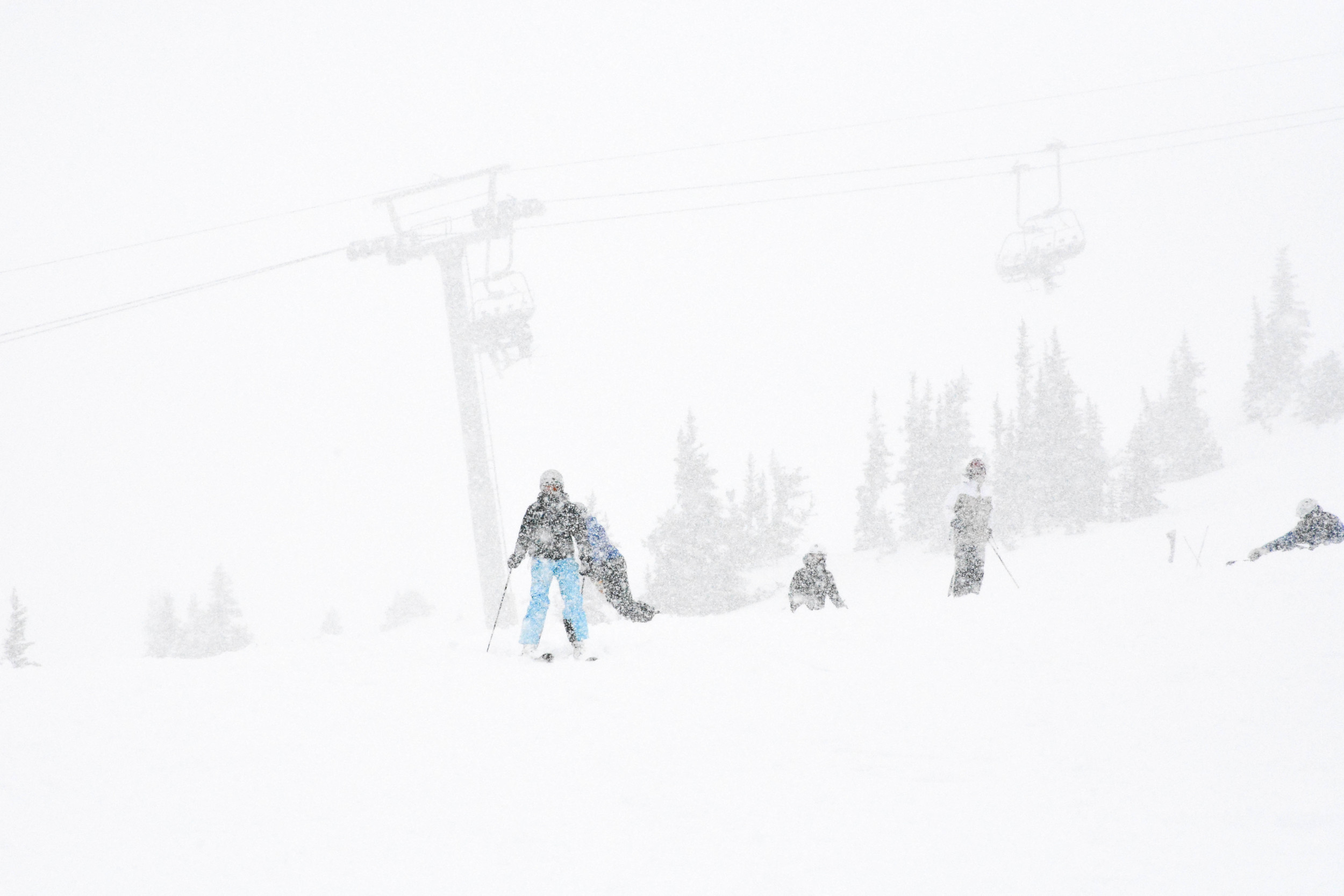 Larisa in Whistler Blizzard