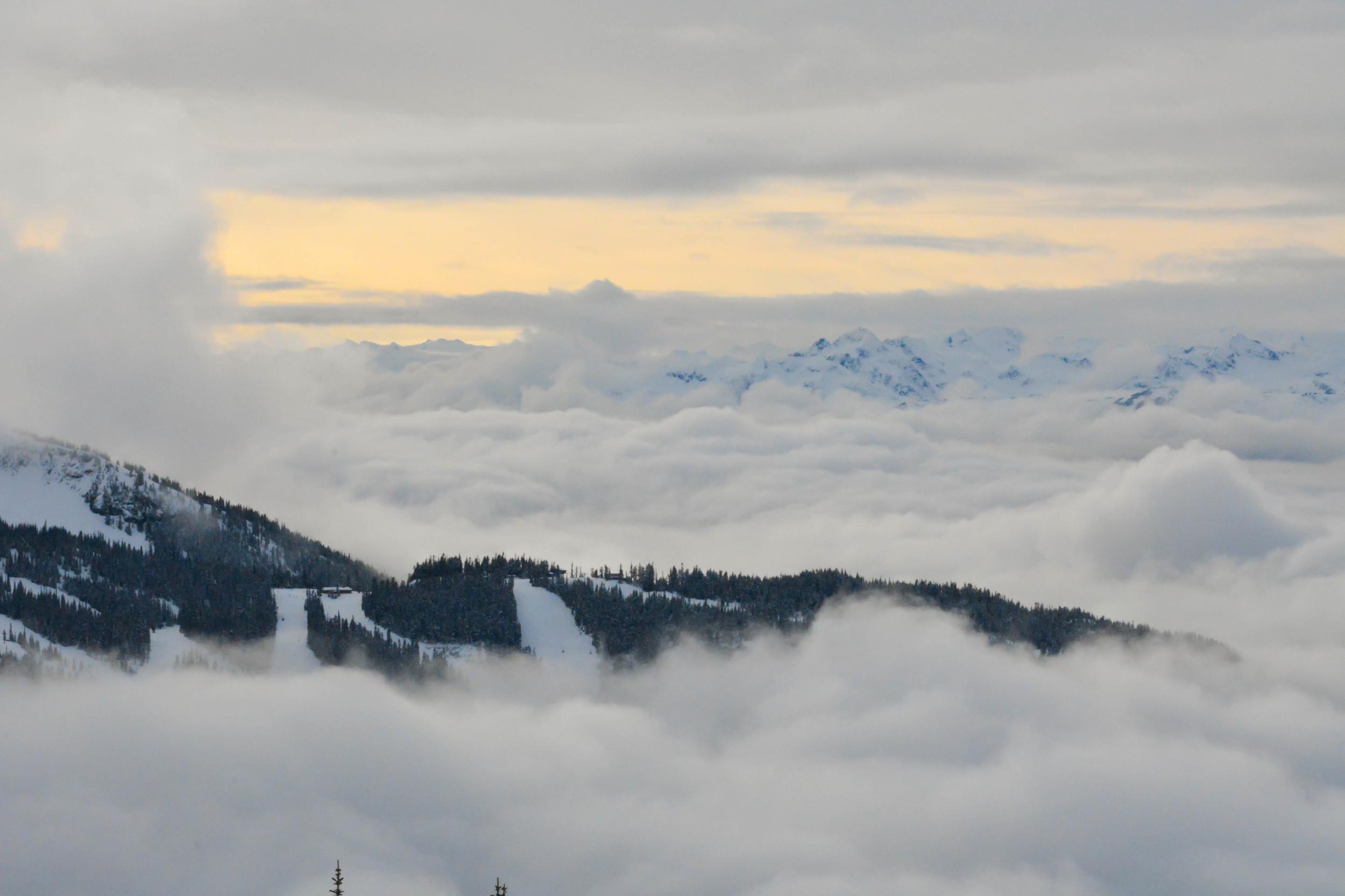 Cloud Filled Valleys