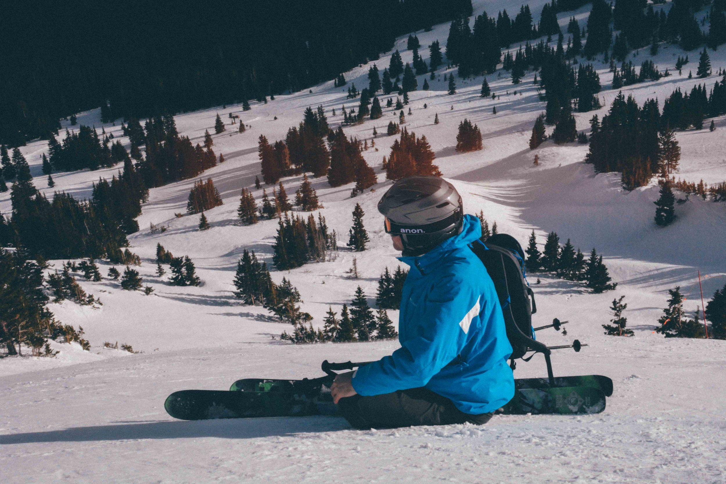 Taking a Break at Breck