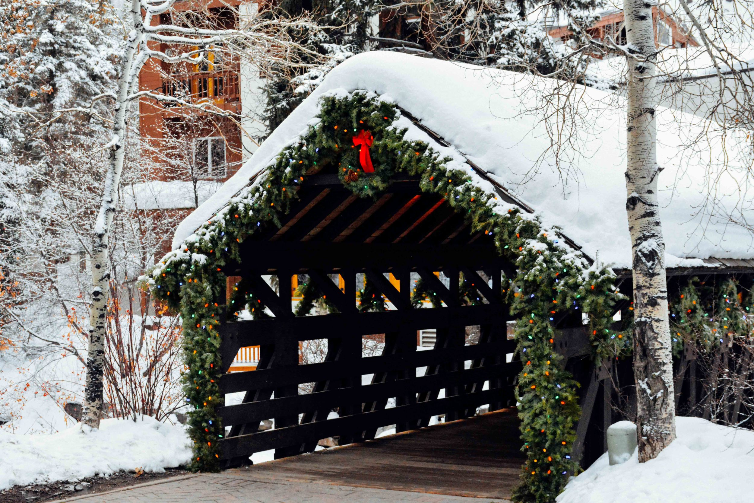 Covered Bridge in Vail
