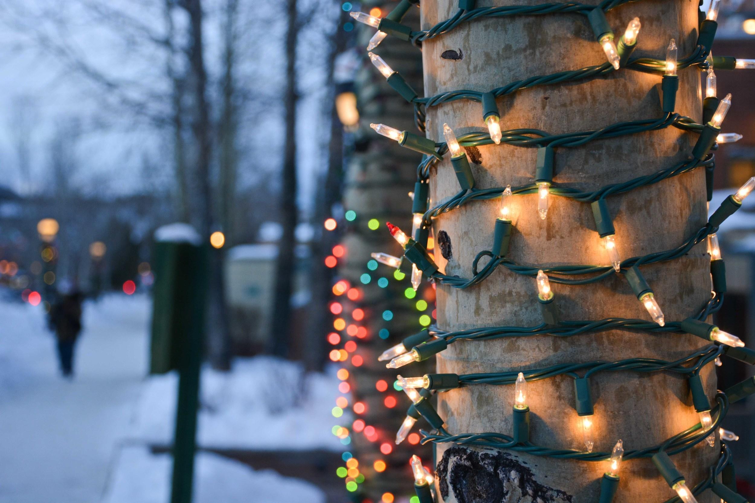 Festive Lights Bokeh