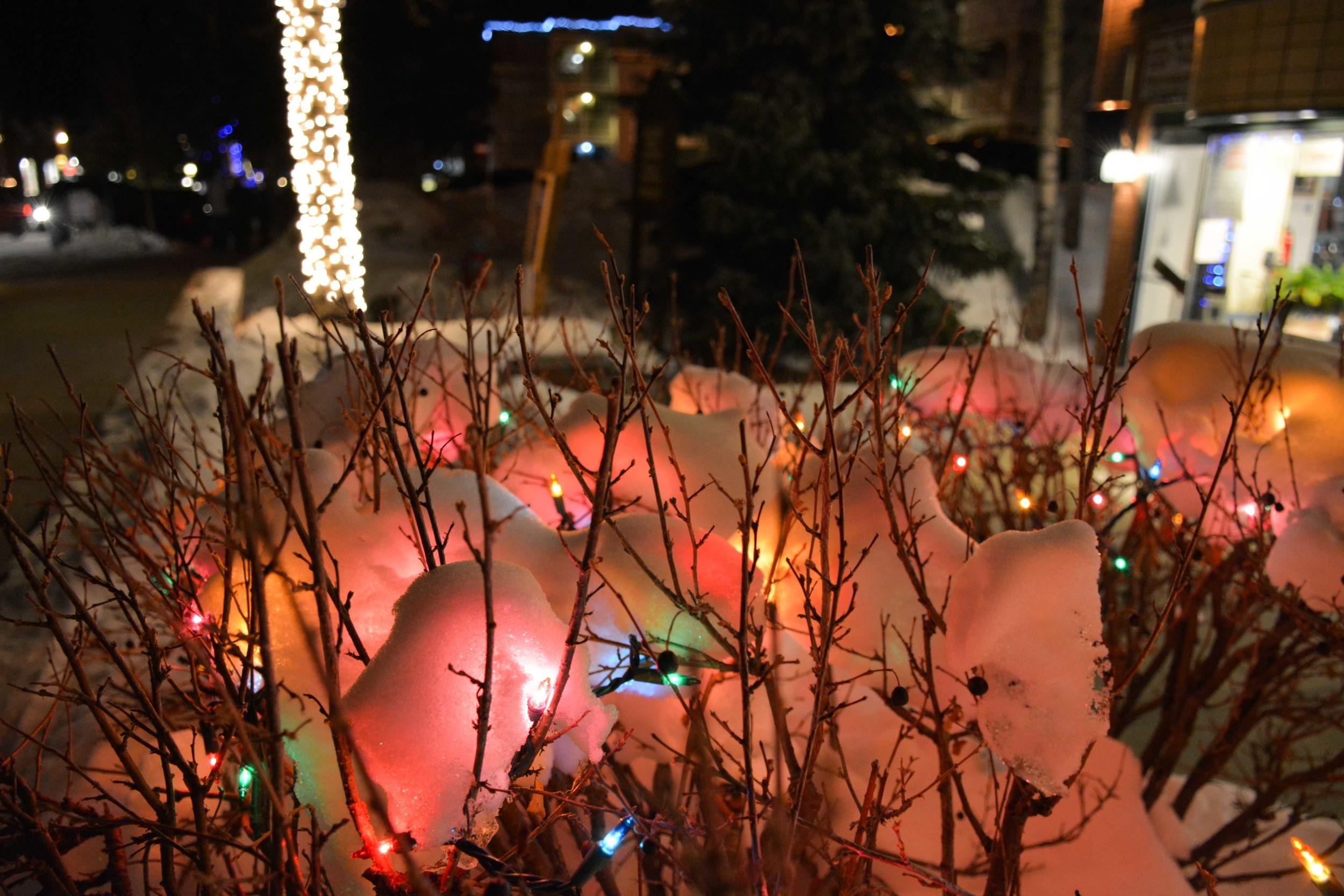 Festive Lights in Breckenridge