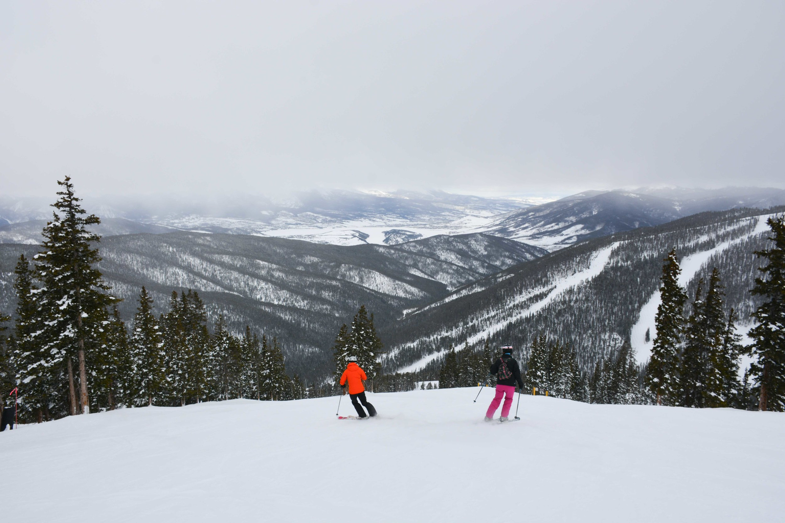 Ladies Ripping the Pow