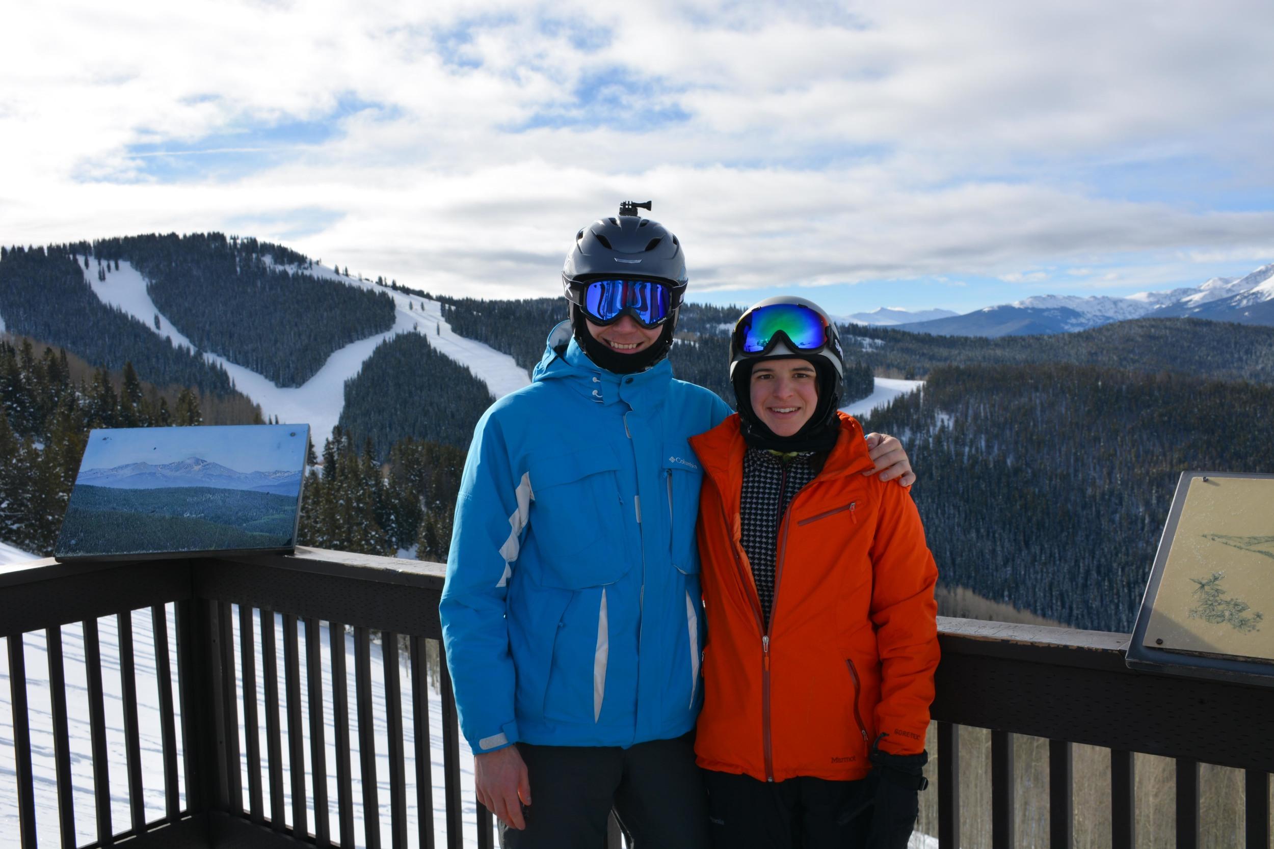 Anton and Larisa at Vail