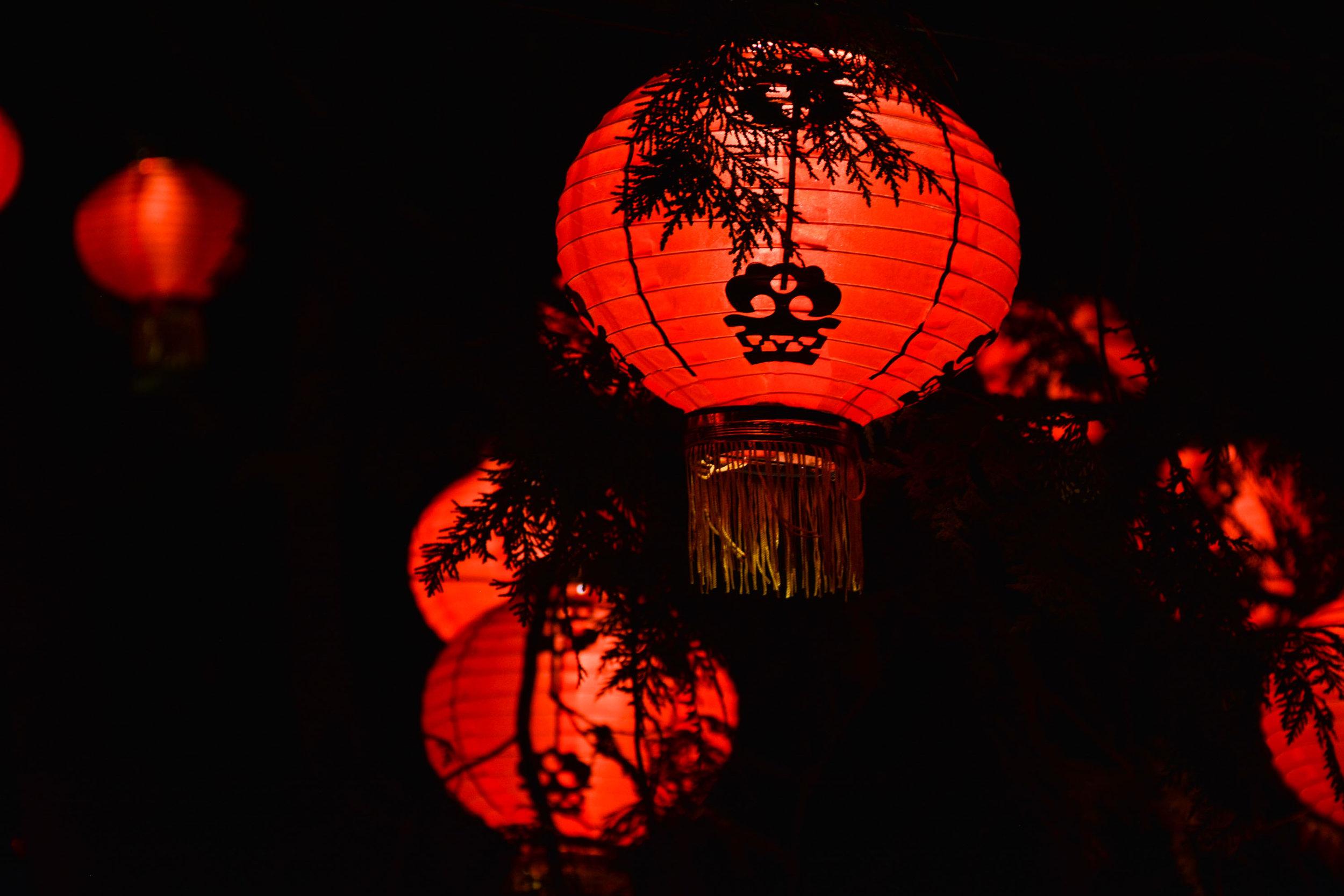 Jardins de lumière Montréal - Lanterns