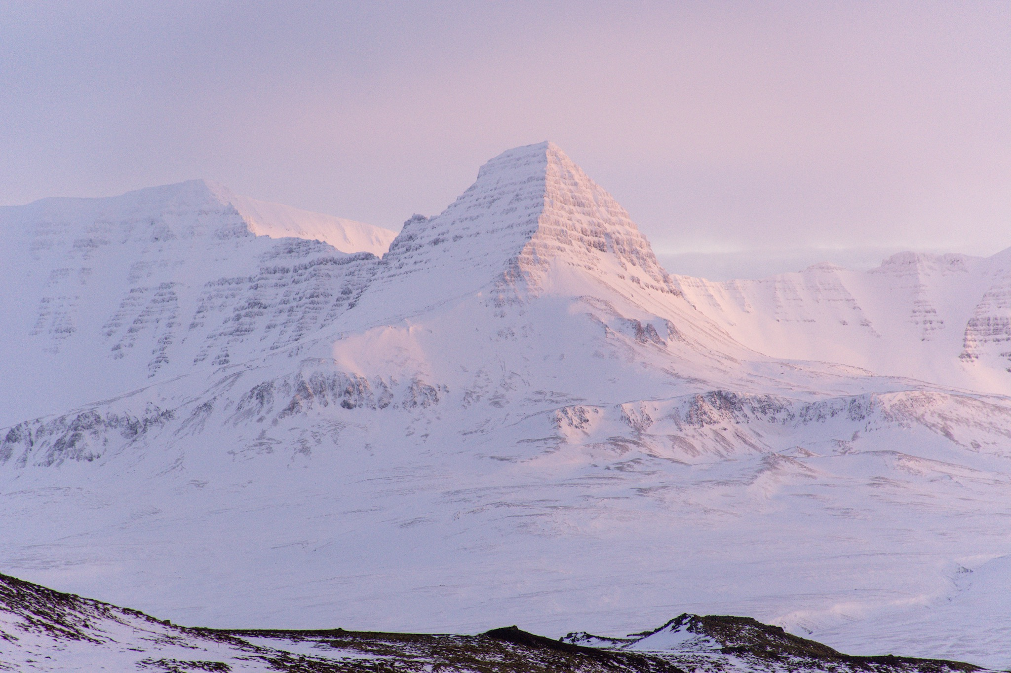 Iceland Alpenglow