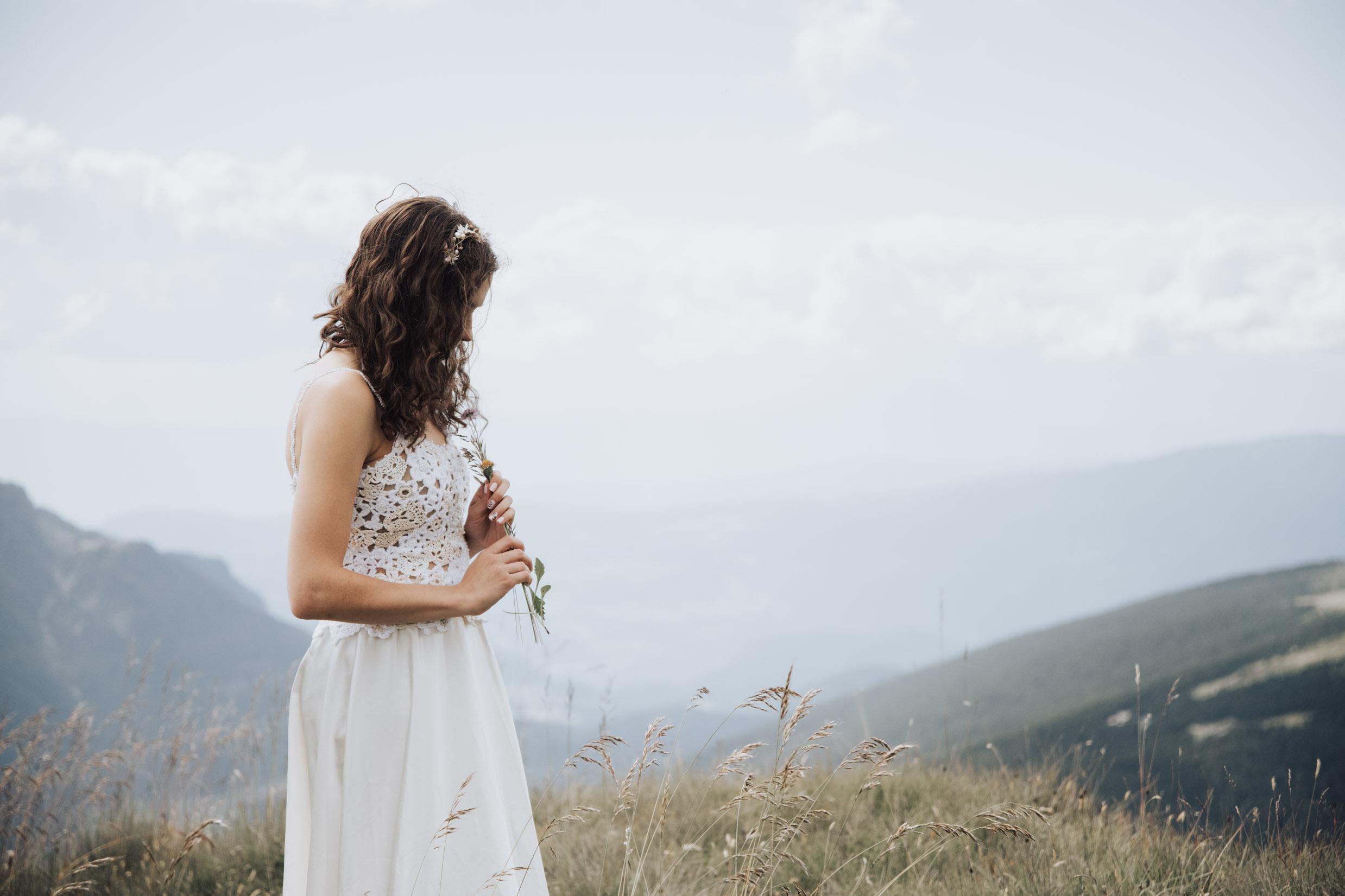 Bridal shoot at Seceda    View