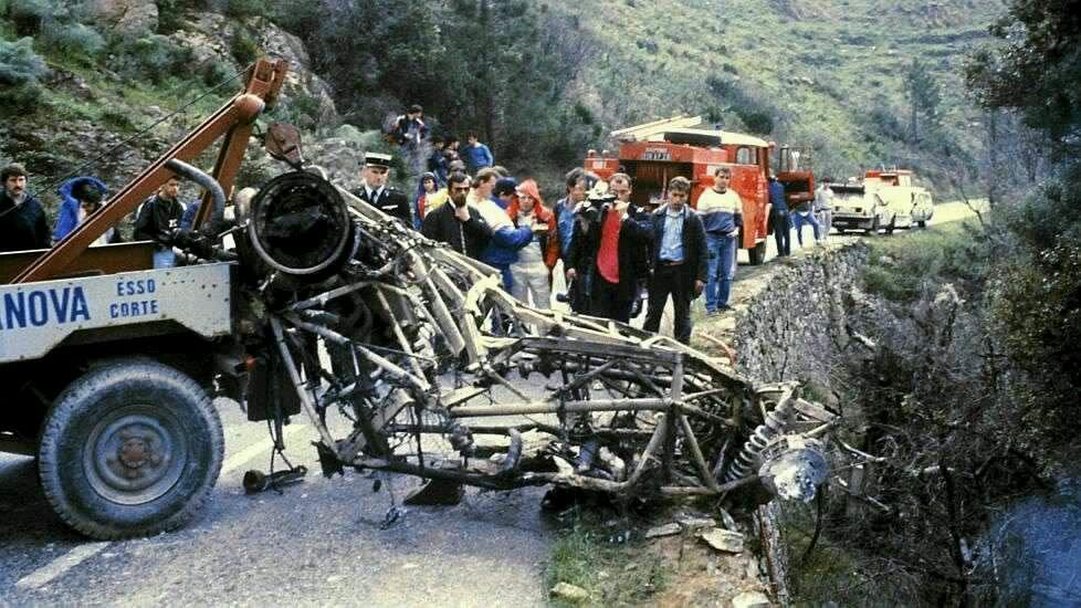 Toivonen's car frame.