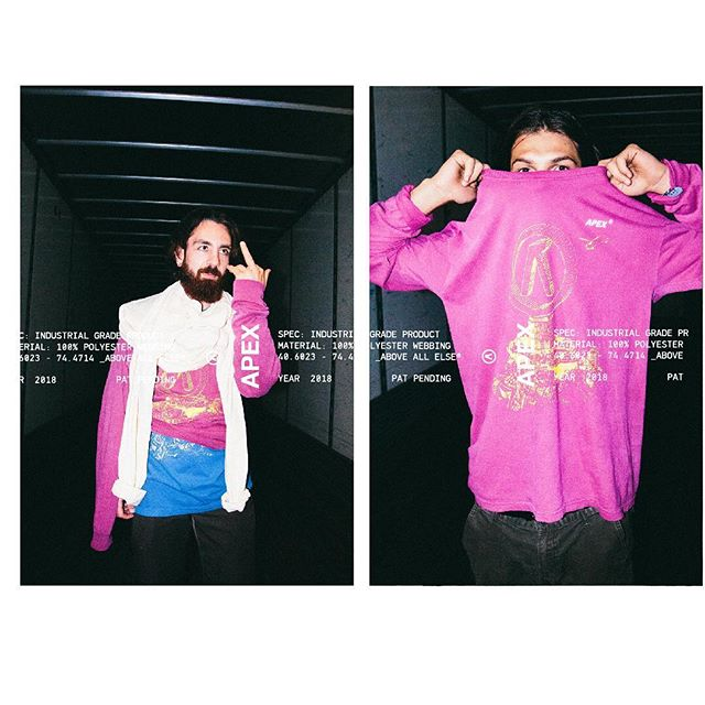 APEX® 9th Wonder  Material: 100% Cotton w/ Printed Graphic on torso Colorway: Fuchsia  Year: 2018