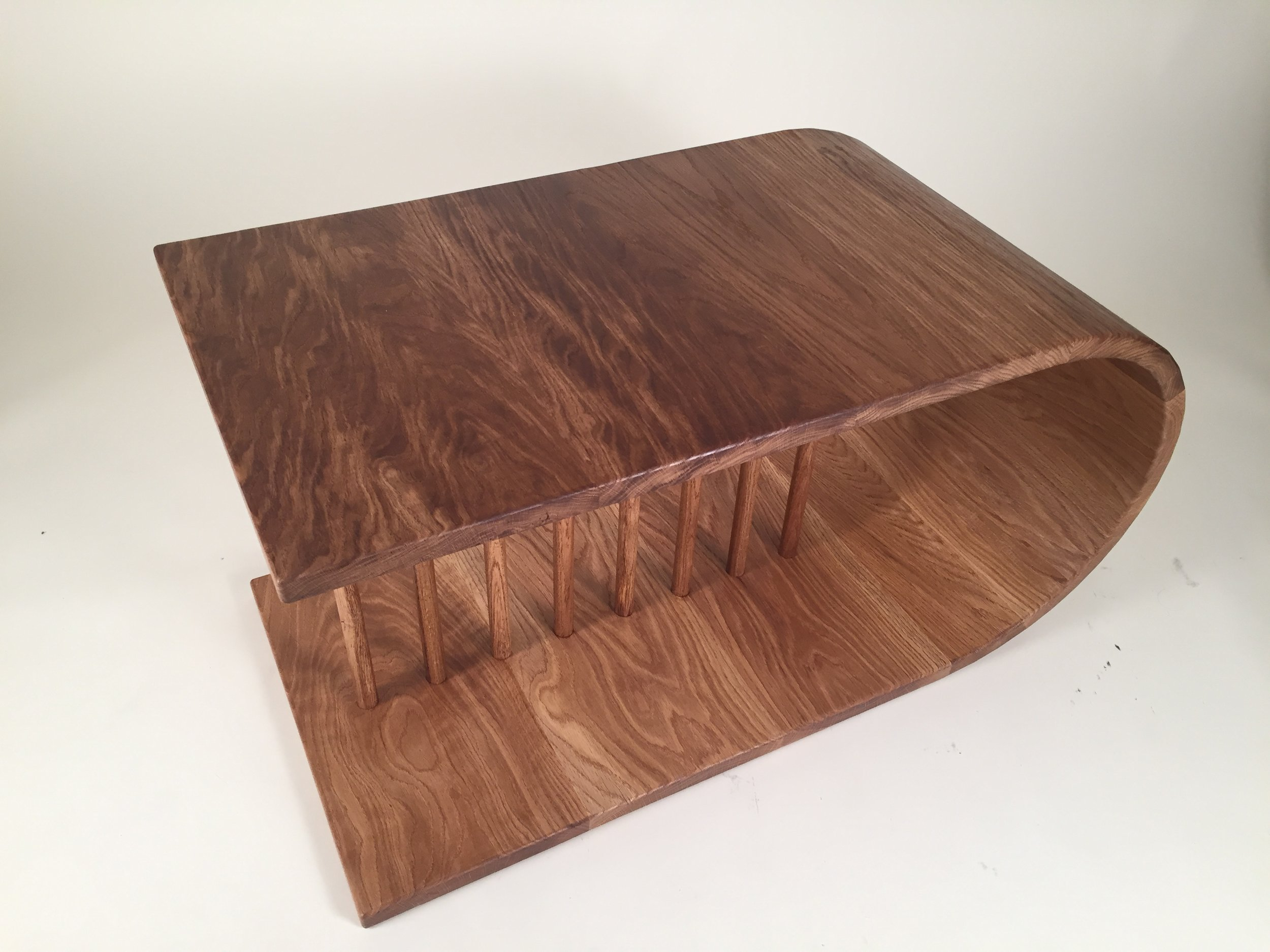 Euclid Coffee Table in oiled white oak