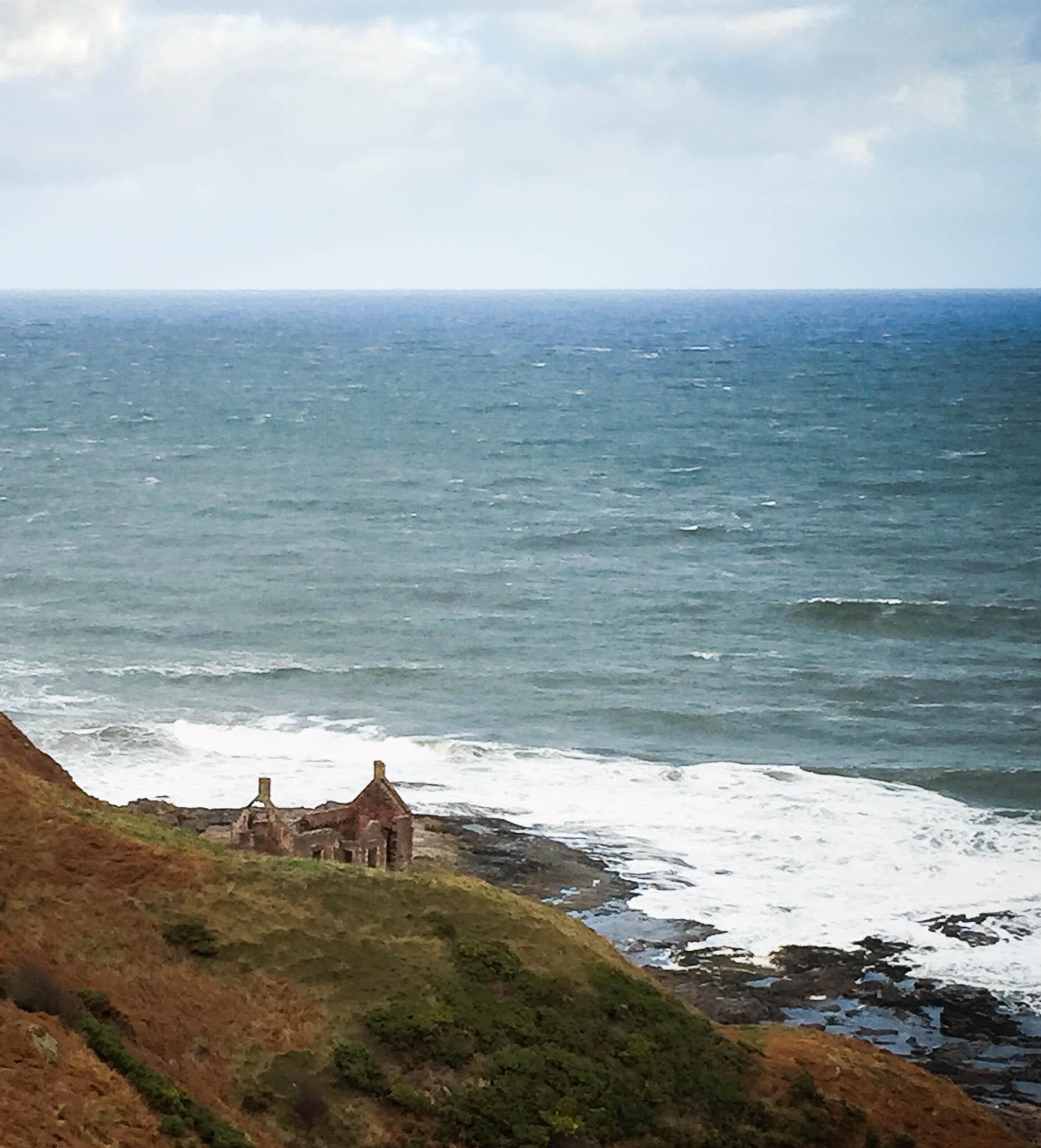 Coastal Bothy Berwickshire