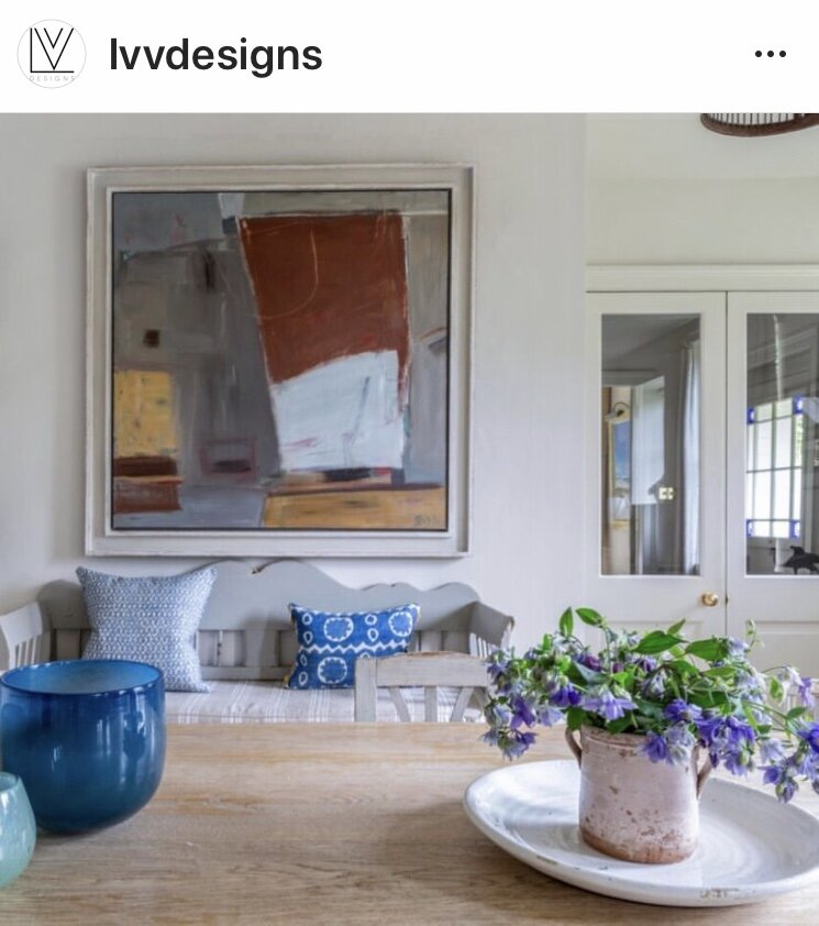 Painting featured in House and Garden 2019