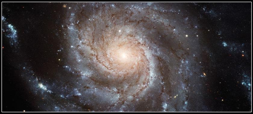 M101 Hubble image