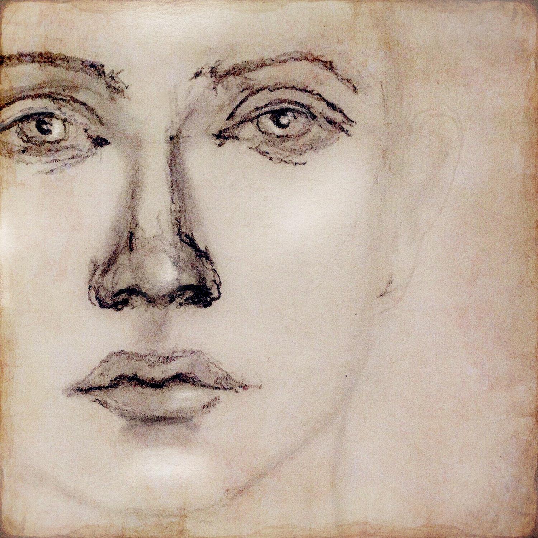 Robin Laws - pencil sketchself-portrait