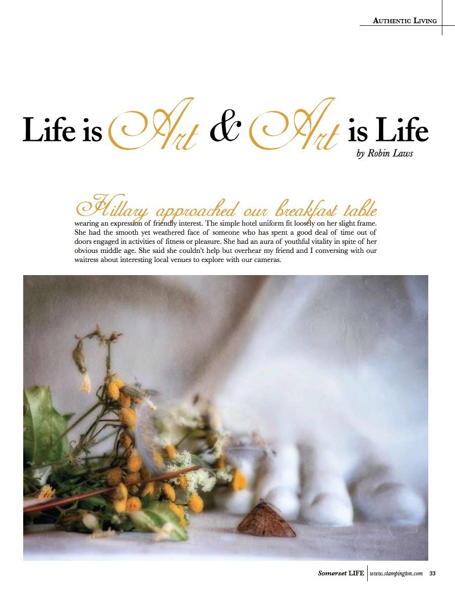 robin laws artist somerset life magazine