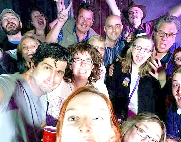 the improvisors at unscripted theatre