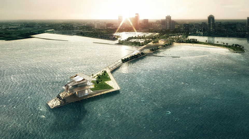 A rendering of the new St. Pete Pier, which is expected to open in early 2019.