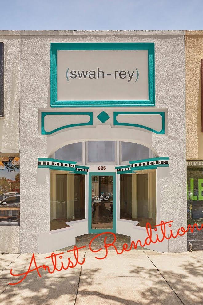 Artist rendition of the new storefront located on the 600 block of Central Ave in Downtown St. Pete