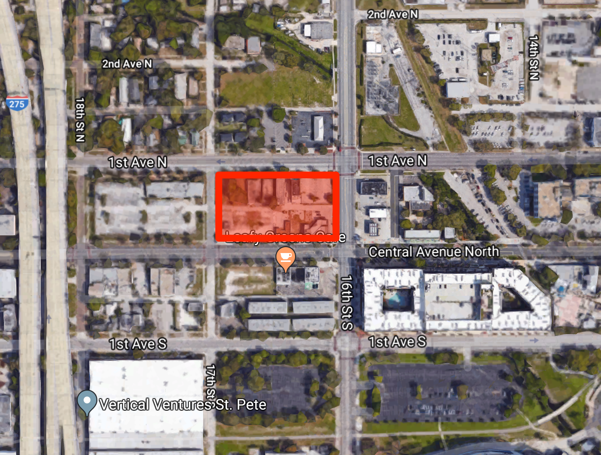 Milhaus' Project is planned for 1601 Central Avenue
