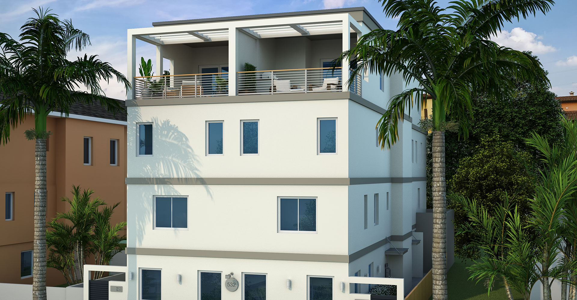 The Sabal, Salt Palm's first development, is located at 532 4th Avenue South in Downtown St. Pete