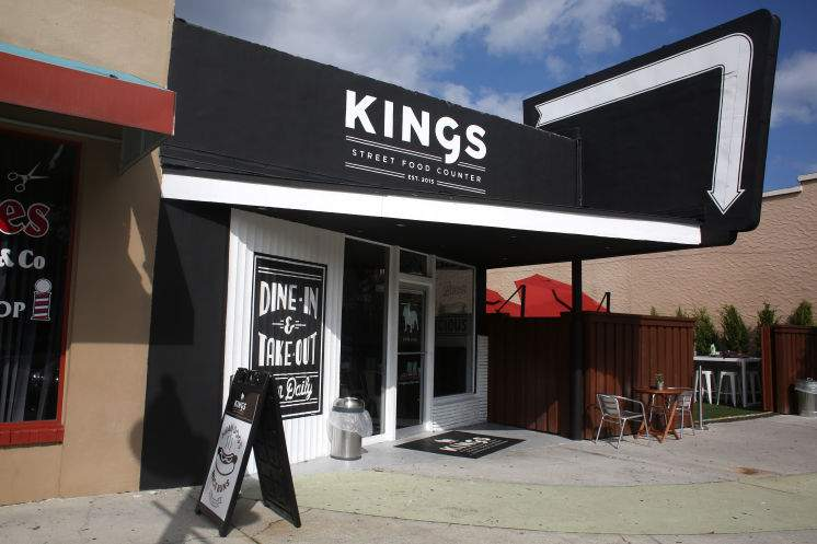 KINGS Street Food Corner closed last month at 937 Central Ave