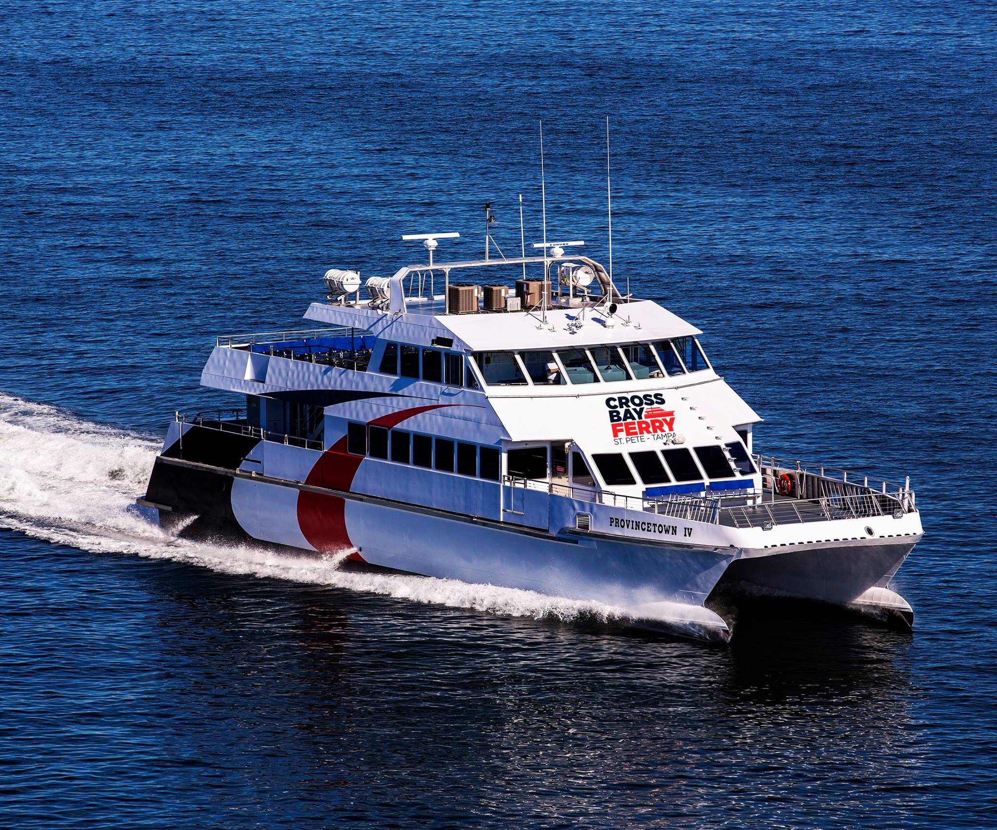 The Cross Bay Ferry recently returned after a successful debut in 2016.