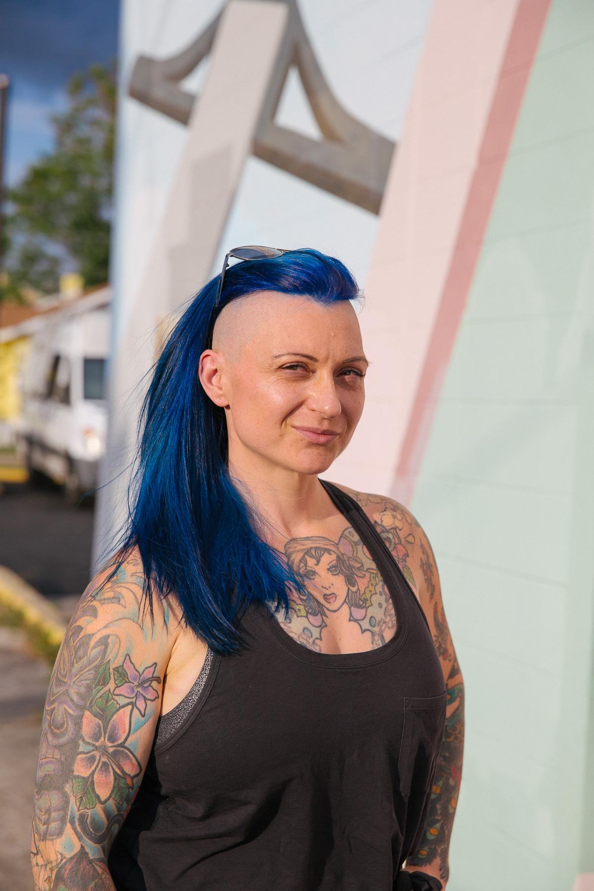 Celine Duvoisin, owner of Valhalla Bakery. photo credit  @lemonhearted