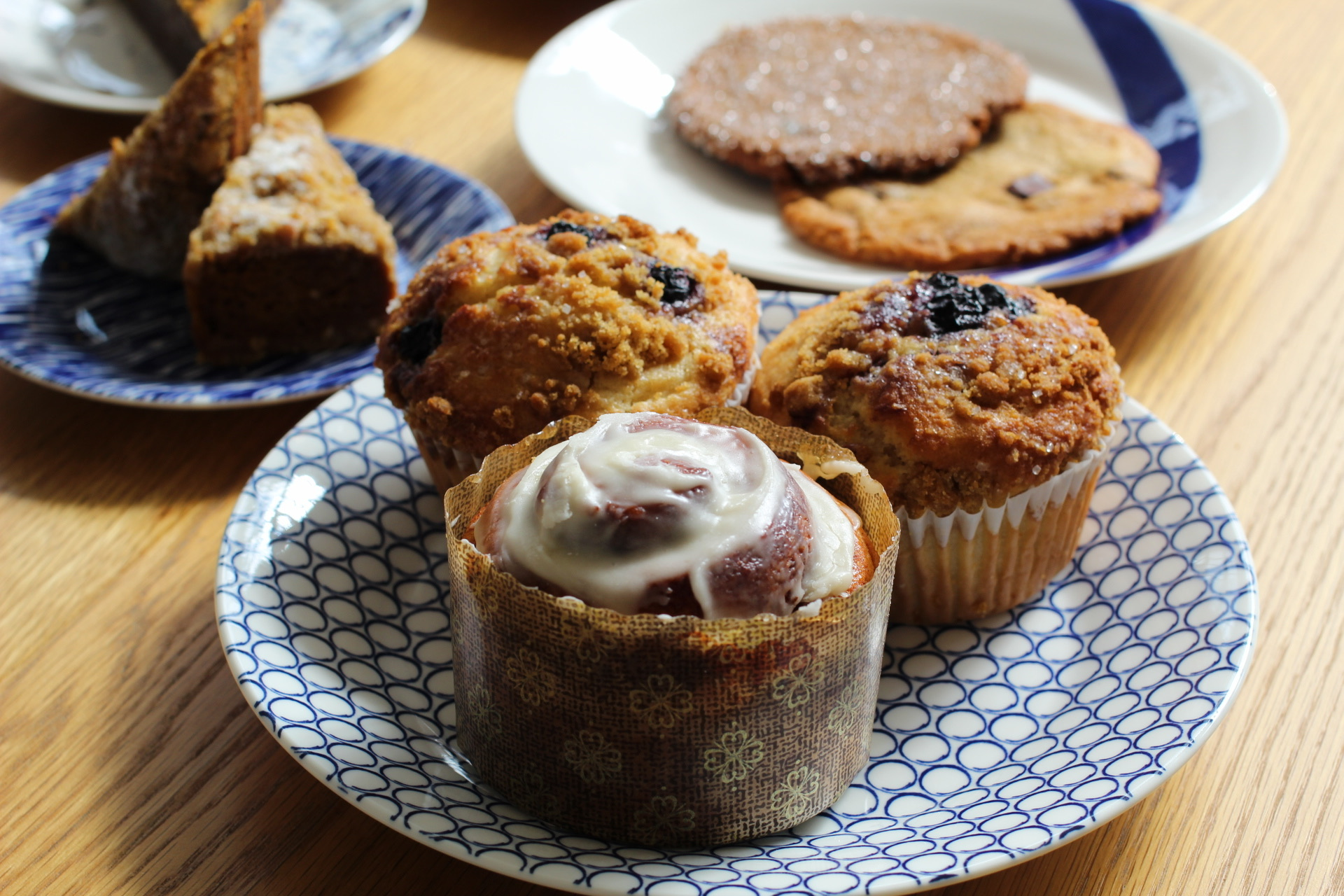 cinnamon rolls, muffins, and cookies at Valhalla bakery, located at 1113 Central Avenue inside Baum Avenue Market in Downtown St Pete