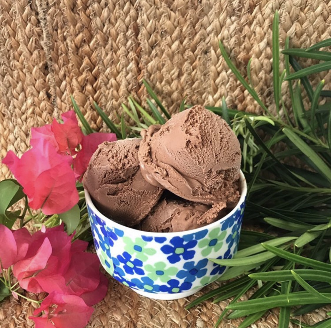 one of Plant+Love's classic flavors, Divine Chocolate.