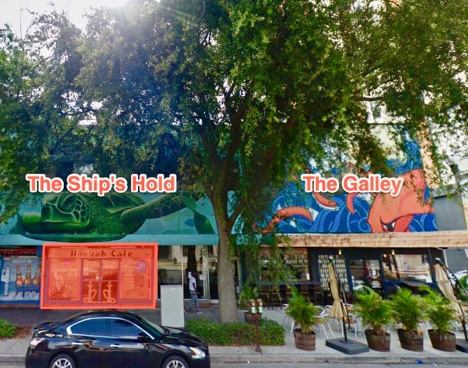 Owners of the Galley, a St Pete Tavern, to open The Ship's Hold, a cocktail bar, in march.