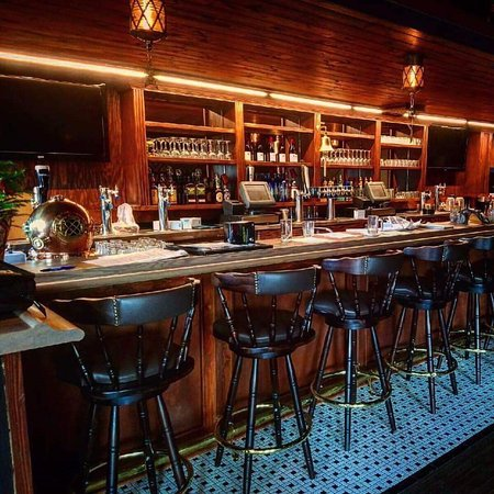 A Nautical-themed bar at The Galley. Located at 27 4th St N in Downtown St Petersburg, FL