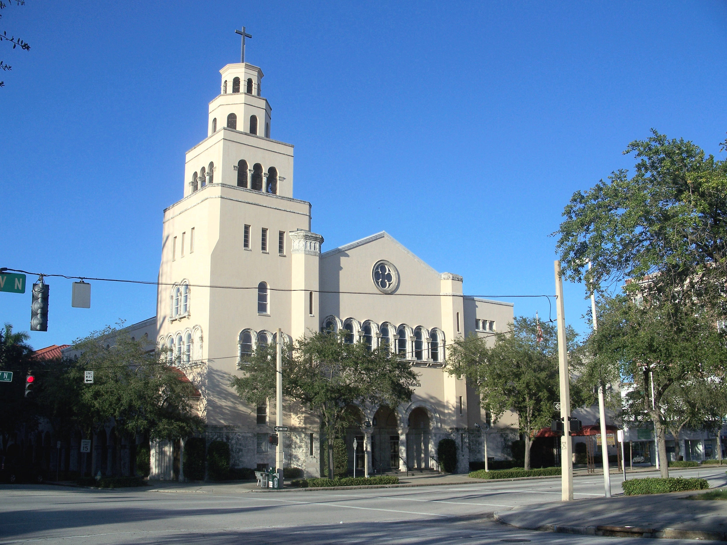 The Christ United Methodist Church has entered an agreement to sell its parking lot at 450 1st Ave N.