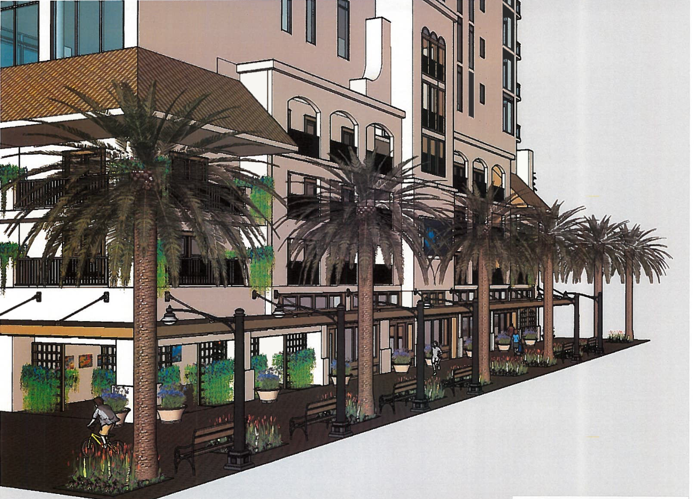In March 2019, new renderings were released showing a vastly redesigned base.