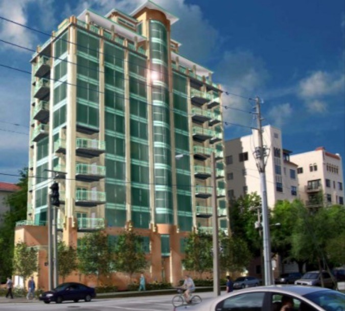 In 2005 a developer was granted approval for a 13-story, 19-unit building on the Bezu lot.
