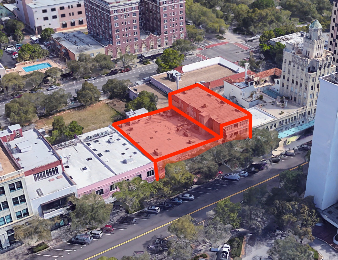 Tricera Capital purchased the McCrory building at 433 Central Avenue.