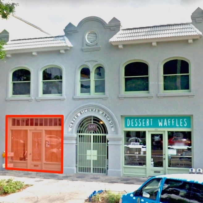 Bishops Barbershop will open this summer at 689 CEntral Avenue in Downtown St Petersburg