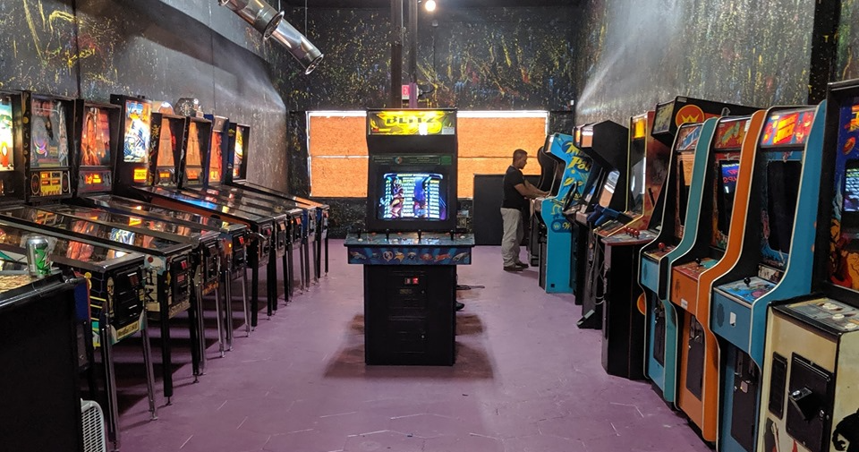The Pinball Arcade Museum has 60 pinball and arcade machines available to play