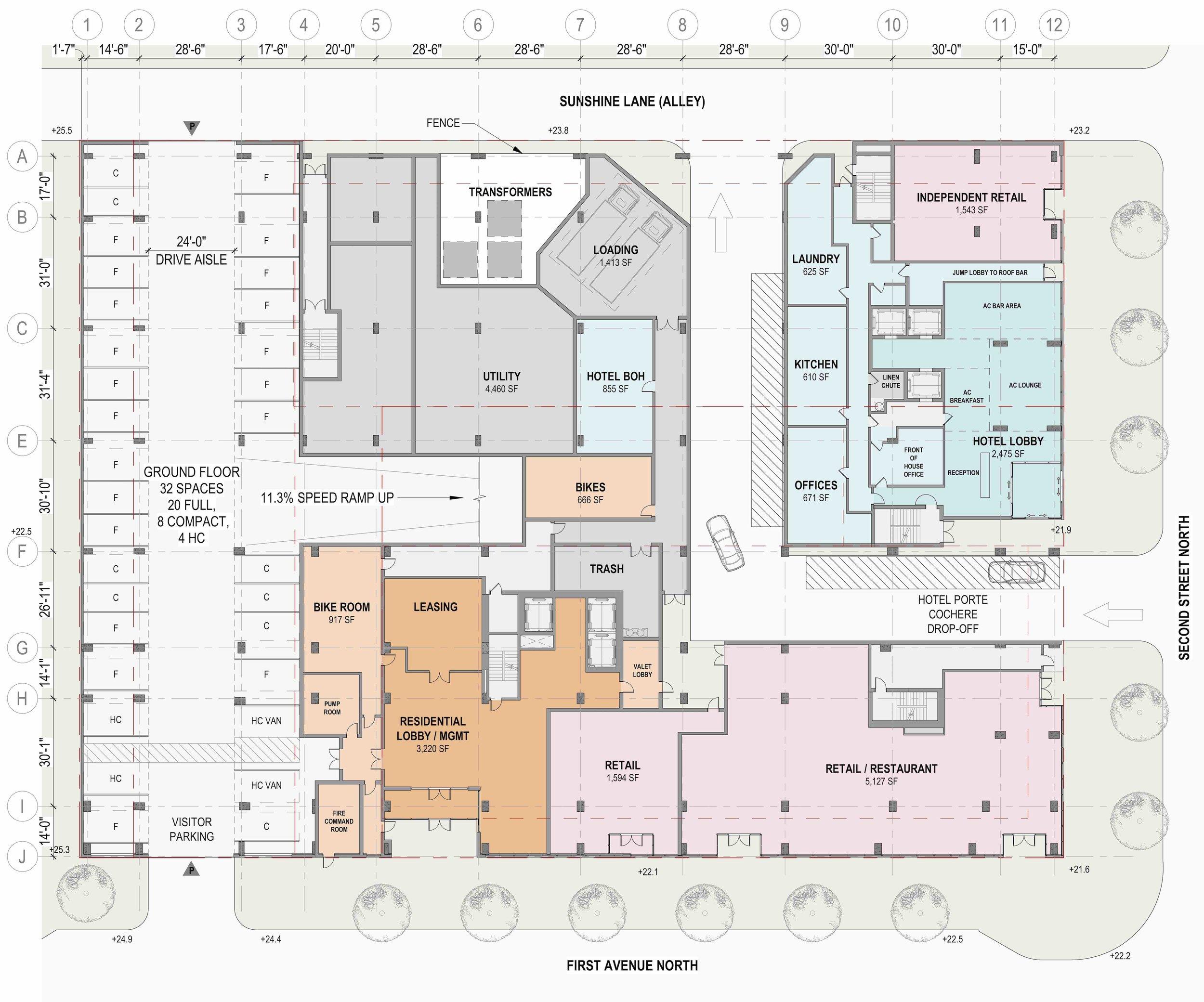 Site Plan - 1st Floor