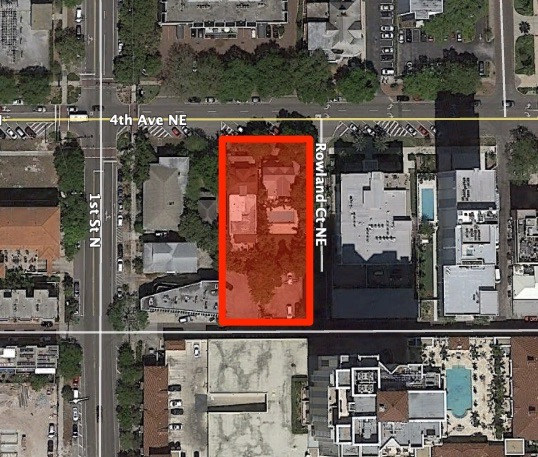 The Perry will be located at 136 4th Ave NE in Downtown St Petersburg, FL